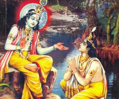 Conversing with Krsna