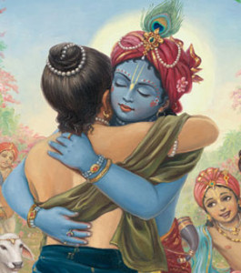 Krishna_Welcoming