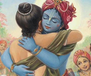 Krishna_Welcoming