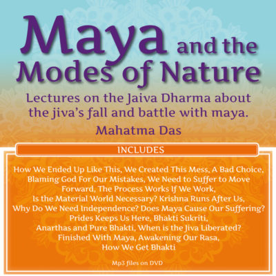 Maya and the Modes of Nature Mahatma Das