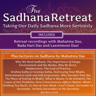 The Sadhana Retreat Mahatma Das